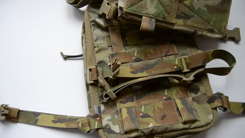 How to connect the Haley FLATPACK with Spiritus Chassis MK3 Chest Rig