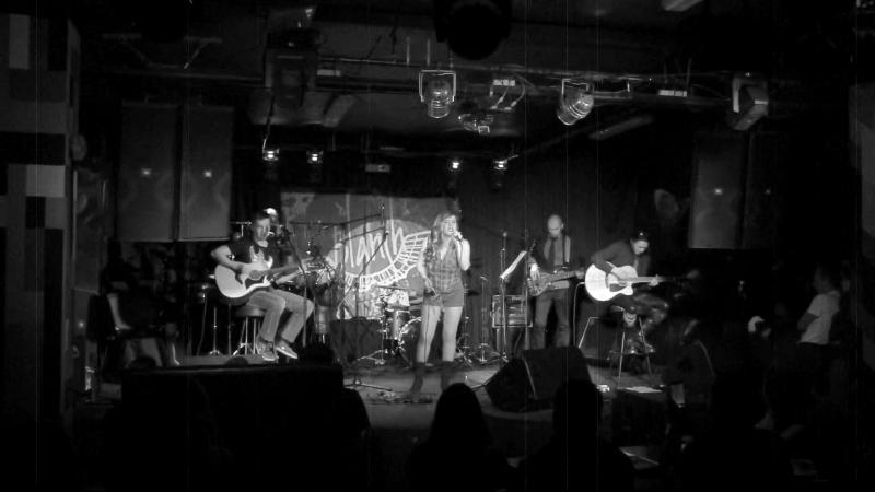 BLANSH Blues Rock Band ¦ melody of rain ¦ acoustic guitar music ¦ live 2015 ¦ рок