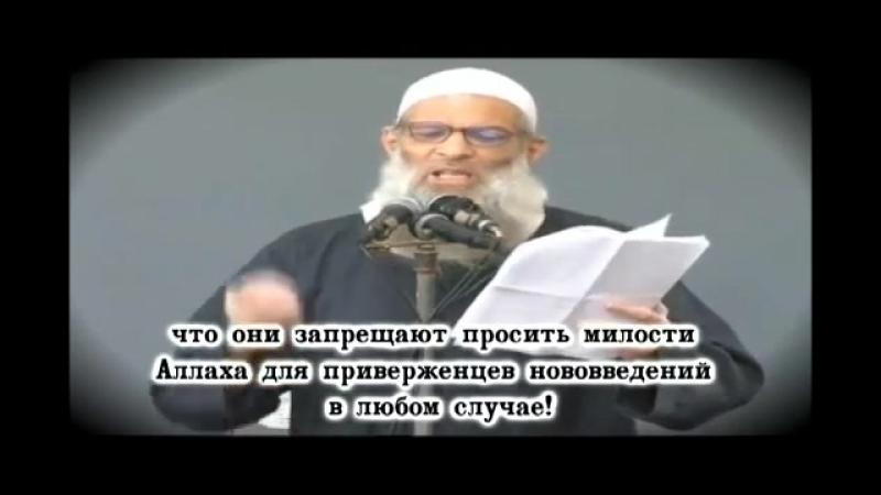 Для кого Абу Ханифа сектант и ненавистны саляфиты ВАЖНО