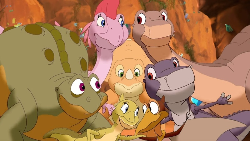 The Land Before Time | The Canyon of Shiny Stones | HD | 1 Hour Compilation | Cartoons For Children