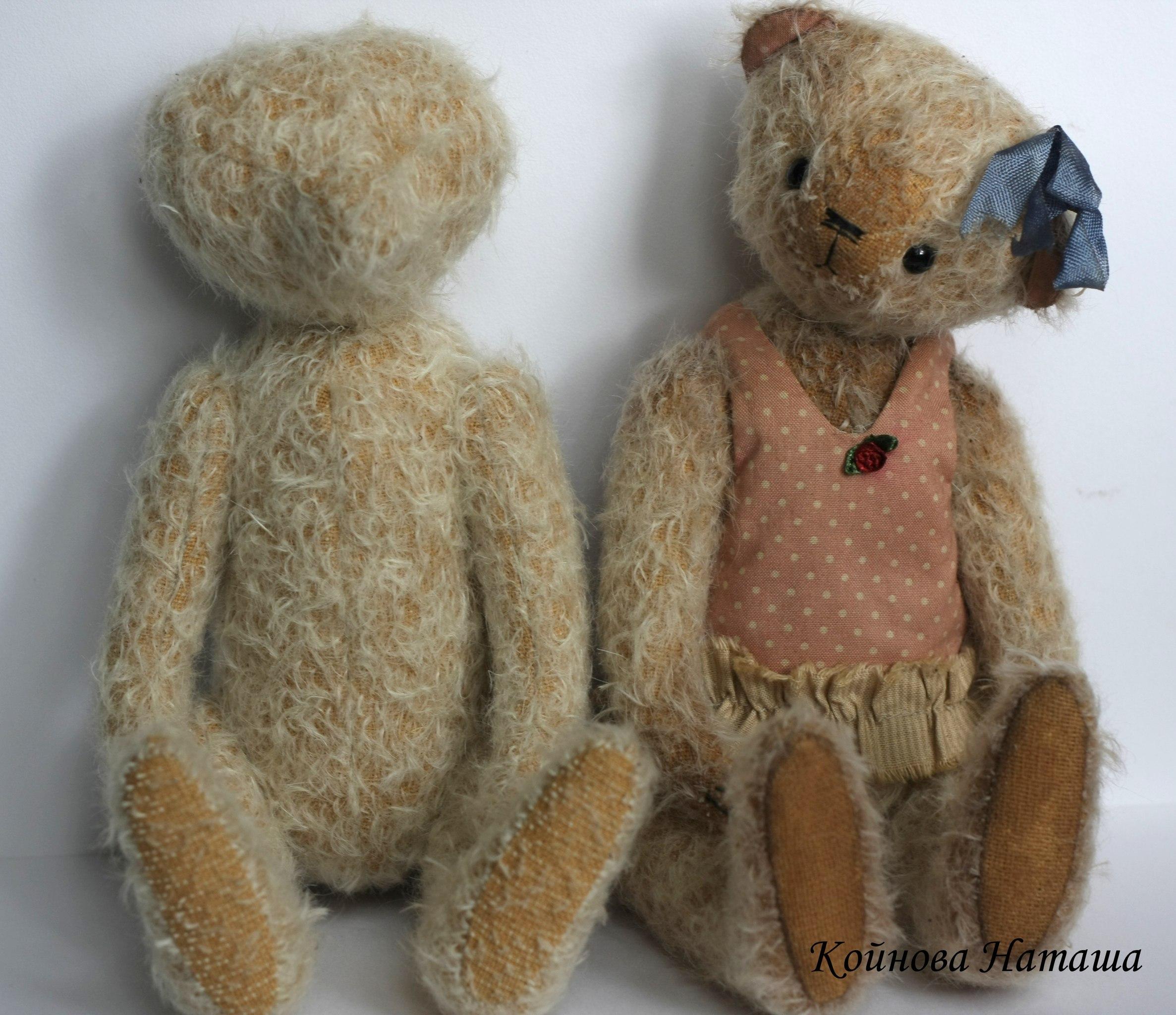 мастер-шоу по состариванию мишки Тедди