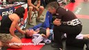 DEEP CHOKE OUT • Girls Grappling Gi @ NAGA 08/17 • Women Wrestling BJJ MMA Female Fight