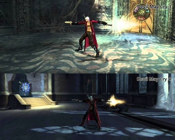 Devil May Cry3 - VS - Devil May Cry4 (Skills style comparison)