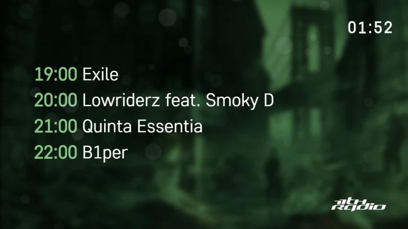 Exile / Lowriderz / Quinta Essentia and B1per - Live @ Integration / Urban Wave podcast / Bass Addiction (02.11.2017)