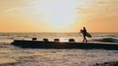 Роза Хутор. Сёрфинг на Чёрном море.
