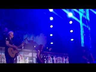 Scorpions - Wind of change. Live 3.11.17 SPb