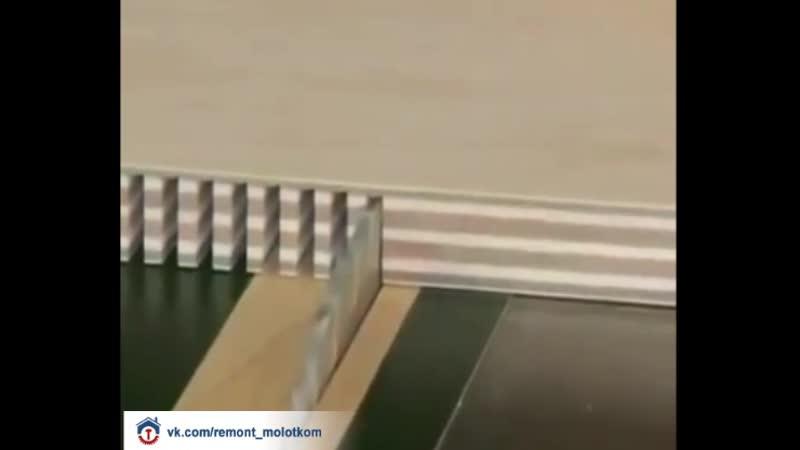 Интересный способ придать форму фанере 😊👍🏻