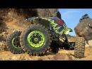 MaxStone Crawler 4 Wheel Steering in action