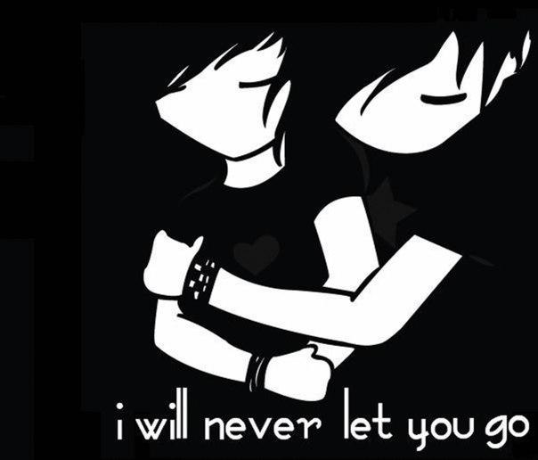 черные картинки про любовь: