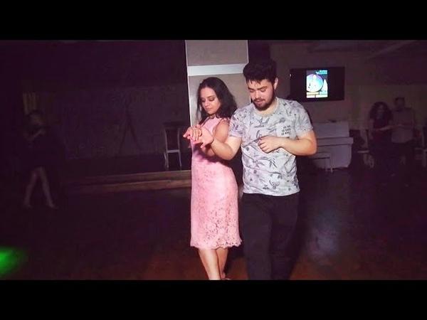 Piterzouk 2018. Edson Vieira and Dj Ula. Zouk improvisation.
