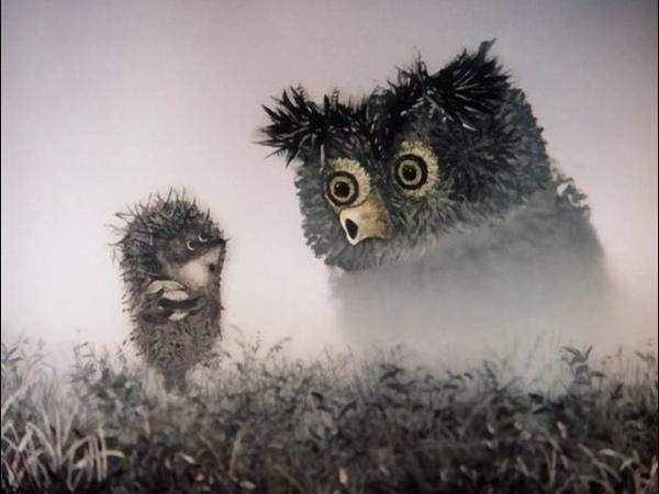 Ёжик в тумане Юрий Норштейн 1975 г Мультфильм Детский Рисованный
