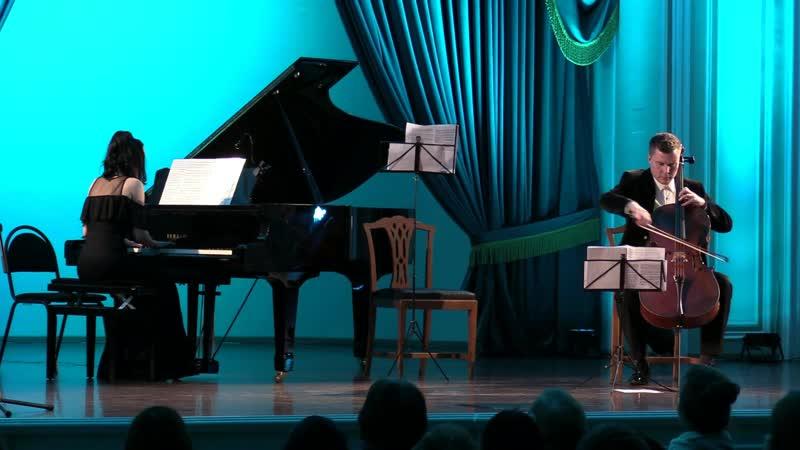 Ф. Шопен - Соната для виолончели и фортепиано соль минор, ор. 65, Largo