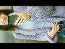 ЛАВАНДОВЫЙ КАРДИГАН спицами Английской Резинкой Вязание Knit Mom