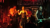 Burning Lady - Wasted Time (live @ Berlin, Wild At Heart 2013)
