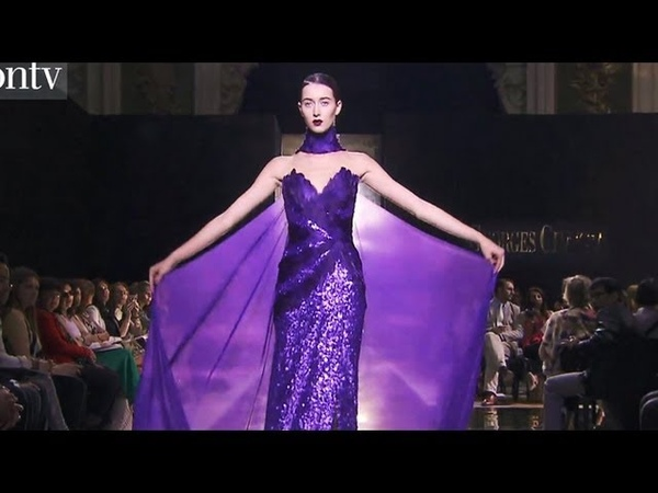 Georges Chakra Couture Fall Winter 2012 13 FULL SHOW Paris Couture Fashion Week FashionTV