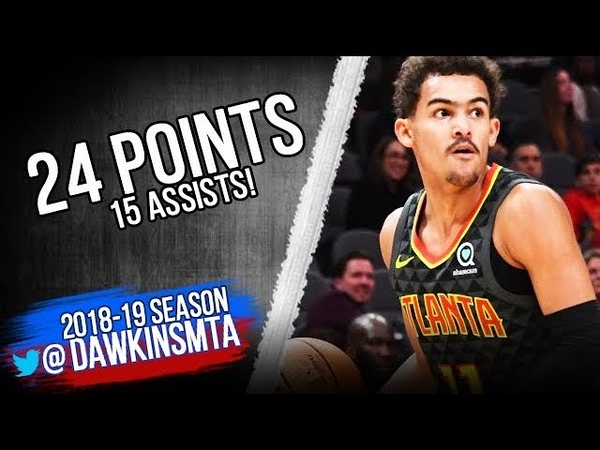 Trae Young Full Highlights 2018.11.03 Hawks vs Heat - 24 Pts, 15 Assists! | FreeDawkins