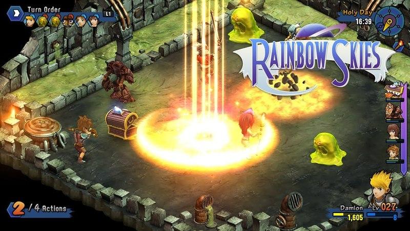 Rainbow Skies Trailer (PS4 PS3 PS Vita)