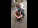 Thin chick strikes back - YouTube