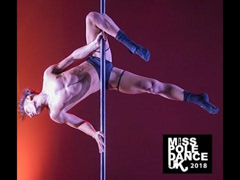 Brandon Griffiths - Runner up - Mr Pole Fitness UK 2018