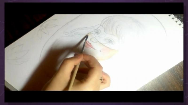 Рисуем Леди Баг🙃🐞🐞