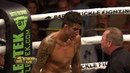 Bare knuckle boxing. Kendall Grove taking a brutal knockout