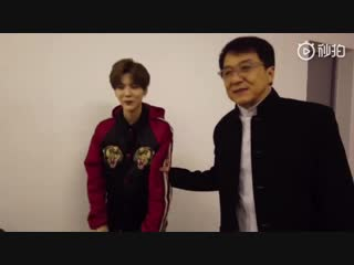 181230 Luhan with Jackie Chan @ 2019 ZJTV Countdown Concert