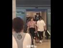 FANCAM AIRPORT 180813 B A P @ Аэропорт Инчхон прибыли с Японии