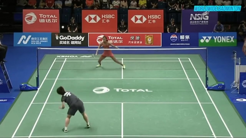 Top 15 BADMINTON RALLY From 2018 BWF World Championships