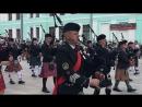 Шотландский военный оркестр, Белорусский вокзал