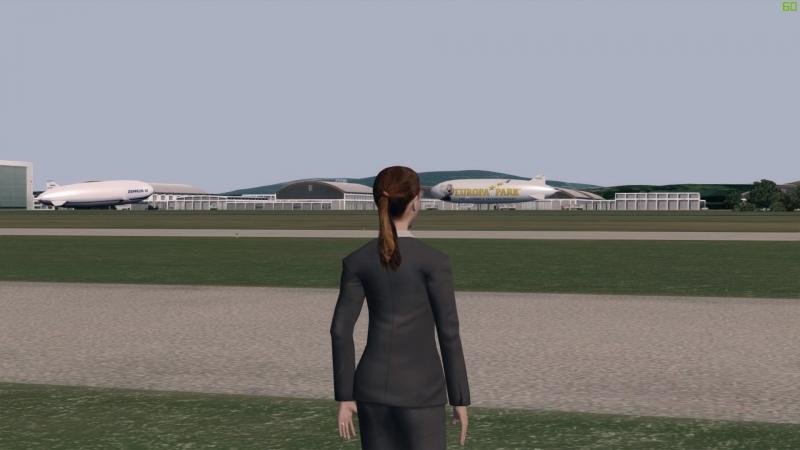 Prepar3D friedrichshafen zeppelin landing