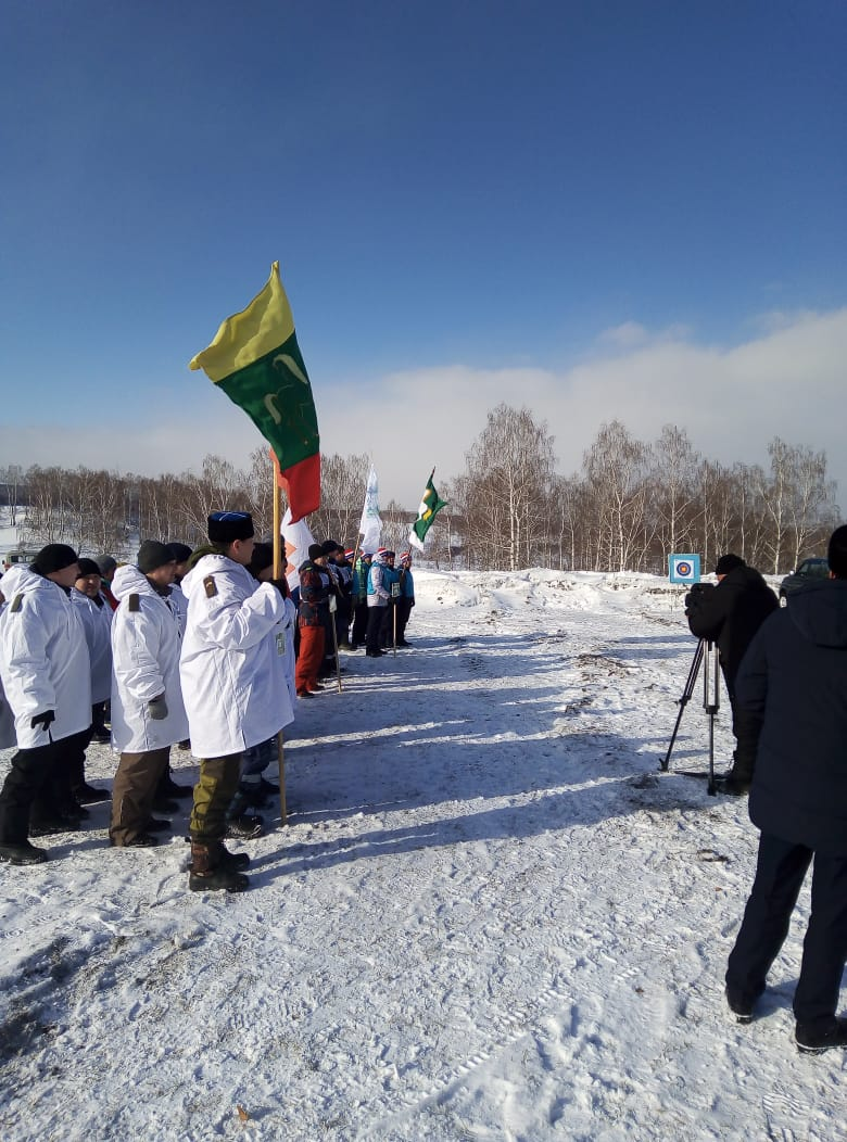 В Баймаке медицинские работники приняли участие в военно-патриотической игре «Зарница»