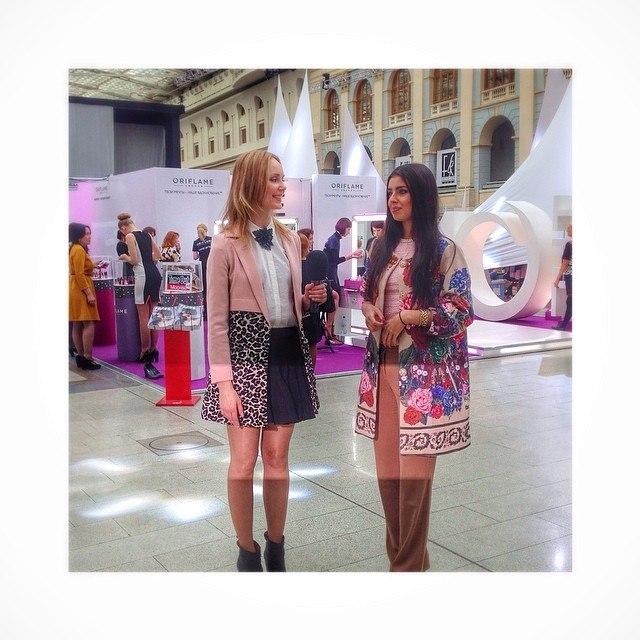 Мисс Россия-2013 Эльвира Абдразакова на Неделе моды в Москве 2014