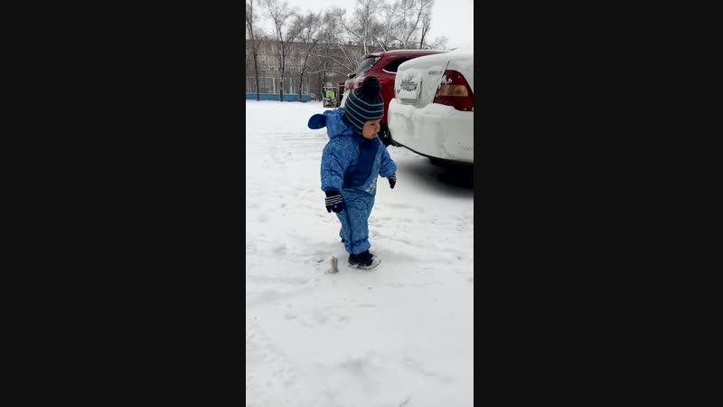 наш 1 снег
