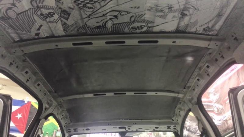 Ford EcoSport шумка не особо дорогими материалами Эффект есть Тишина без следов установки