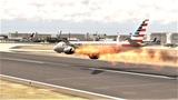 American Airlines Embraer 190 Emergency Landing crash (HD) X-Plane 11