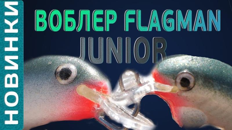 Воблер Flagman Junior - обзор супер новинки! Миниатюрные тонущие воблера!