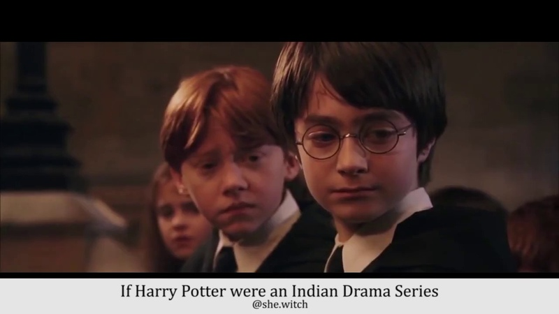 If Harry Potter were an indian drama series