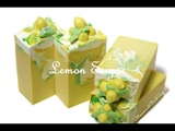 Lemon Sugar Soap (First in fruit series)