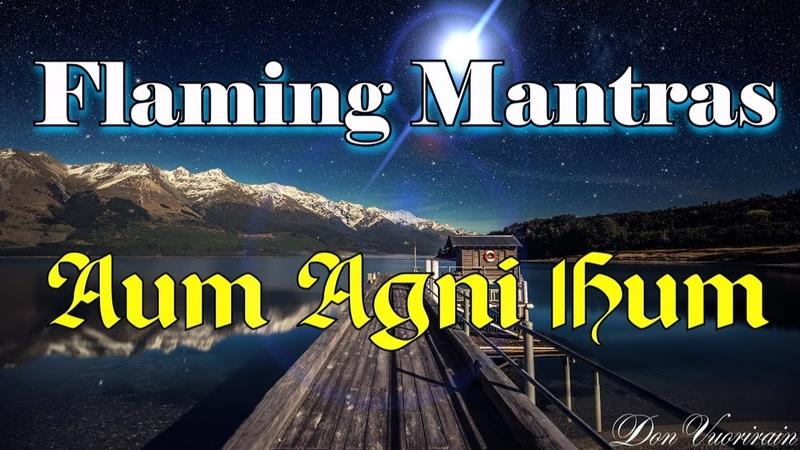 Warning Very powerful Mantra Aum Agni Hum Мантра Аум Агни Хум Картины Рериха Н К