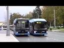Электробусы Камаз 6282 и Лиаз 6274 на отдыхе
