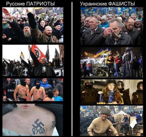 Бендеровцы и российские фашисты