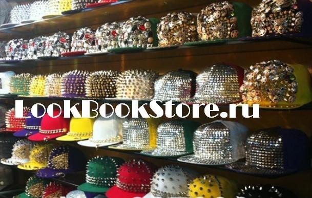 Кепки с шипами LookBookStore.ru
