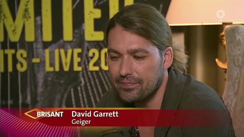 David Garrett -ARD - BRISANT PROMINENT - 28.08.2018