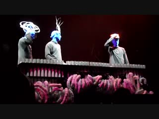 Blue Man Group Pipe Medley (with Crazy Train Lad