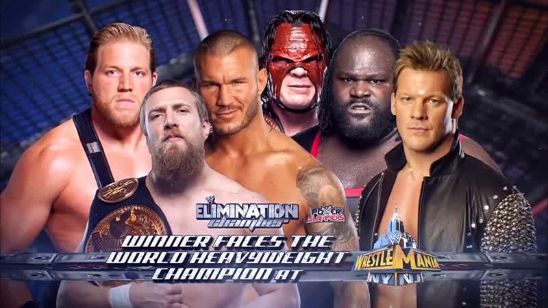 (WWE Mania) Elimination Chamber 2013 Jack Swagger vs. Chris Jericho vs. Daniel Bryan vs. Kane vs. Mark Henry vs. Randy Orton
