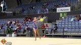 Alexandra Skubova - RUS - Bola (Ball) - Junior AA - IT Portimão 2018