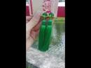 Зеленые клипсы кисти