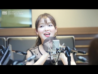 "· radio|cut · 181004 · oh my girl · mbc ""fm4u: kim shinyoung's hope song at noon"" ·"