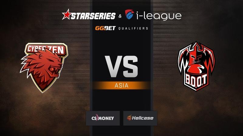 Cyberzen vs BOOT d S map 1 train StarSeries i League Season 6 Asia Qualifier