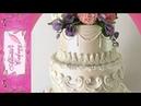 Spring Floral Wedding Cake Long tutorial